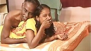 Beautiful Indian Teen Gives Blowjob Her Husband Watches