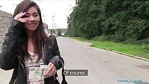 Asian whore taunted by stranger in uk public park for cash