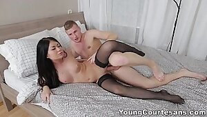 Young Teen Fucks The Lingerie!