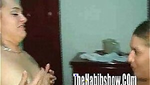 Mistress Laura licks Juicy First Time Latina Stumble Inside Her Pussy