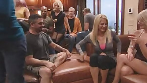 Hot swingers couples get ready for a wild night at this reality