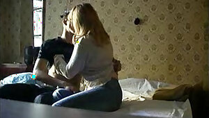 momlick Redhead mature fuck each other with boy