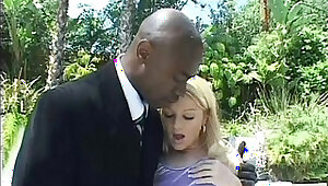 blonde russian teen loves anal double penetration with two big black dicks
