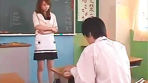 Japanese teacher akiho yoshizawa hot video