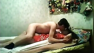 Amateur Couple Having Sex