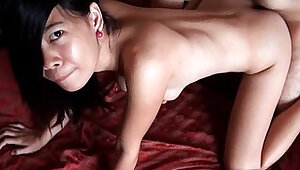 Busty Filipina Amateur girl Gets A Creampie
